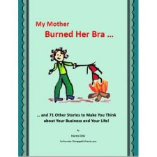 Book Cover Mother Burned Her Bra